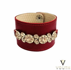 Bracelete De Couro Feminino